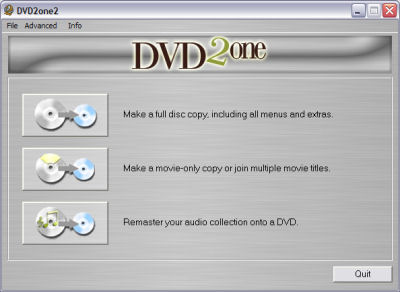 DVD2One Logo