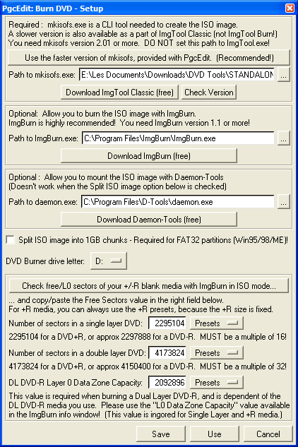 How to make and burn iso images with pgcedit articles digital digest iii if you are using microsoft windows click on use the faster version of mkisofs provided with pgcedit if you use linux as an operating system thecheapjerseys Choice Image