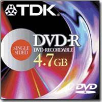 TDK DVD-R Media