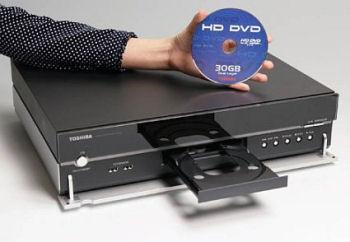 Toshiba's HD-XA1 HD-DVD player