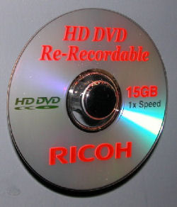RICOH HD-DVD Media