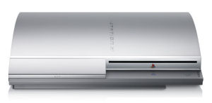Front Side of PS3