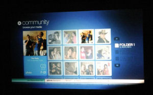 PlayStation Network Platform Screen