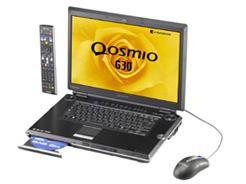 Toshiba's Qosmio Laptop