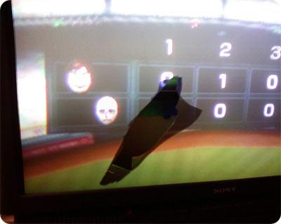 Wiimote Baseball Damage