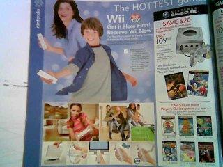 Wii Pre-order Ad