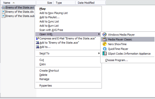 how to play subtitles in windows media player