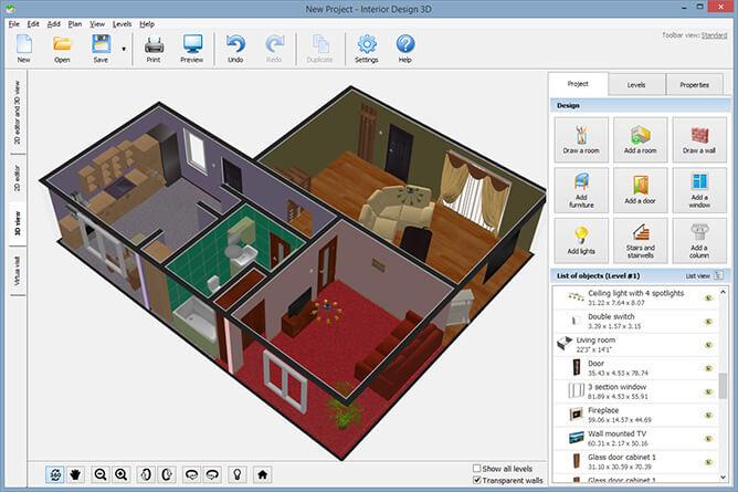 Interior Design 3 25 Software